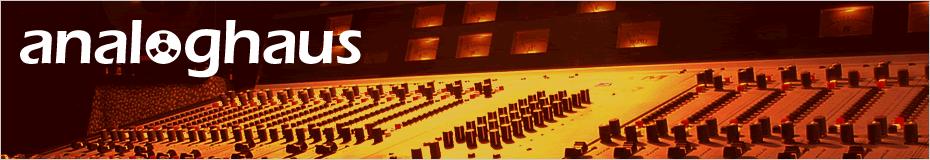 analoghaus - studio label verlag
